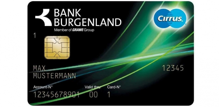 BB Plus Card © Bank Burgenland