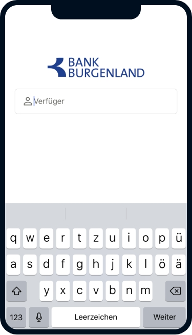Apple App 1 ©Bank Burgenland