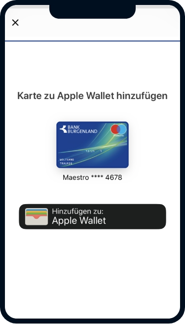 Apple App 6 ©Bank Burgenland